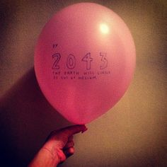 Running out of helium #getwise2013