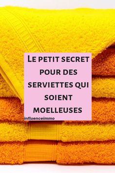 Le secret pourempêcher les serviettes de sentirmauvais de suite