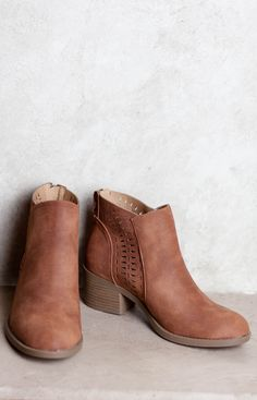 The Caroline Ankle Boots were made for walking and that's just what they'll do... || $36.50