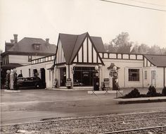 Pure Oil Station - Madison & McLean