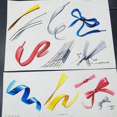 선재 설명 _ _ #수진T #수진🖌 #수진쌤 #예고 #고1 #수업준비 #기초디자인 #기초디자인기초 #미술기초 #입시기초 #그림기초 #미대입시 #미술입시 #미술 #그림 #선재 #리본 #리본끈 #운동화끈 Basic Drawing, Drawing Tips, Sketch Design, Drawing Techniques, Illustration Art, Illustrations, Arts And Crafts, Sketches, Cartoon