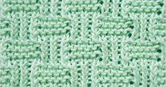Twisted Rib and Garter Stitch   Knitting Stitch Patterns