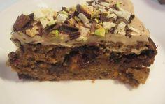 Rakkaudesta ruokaan: Pistaasi-suklaakakku