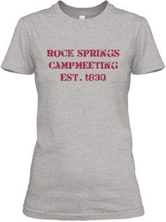 Rock Springs Campmeeting T-shirt