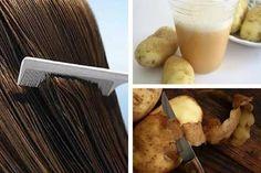 El jugo de patatas es un remedio natural muy efectivo para hacer crecer el cabello. Te compartimos su receta y forma de uso.