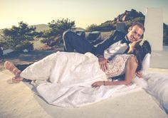 """""""Ένας πετυχημένος γάμος σημαίνει να ερωτεύεσαι πολλές φορές, πάντα με το ίδιο πρόσωπο."""" #bridal #realbride #meglam #handmade #love #summerwedding"""