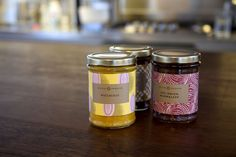 England Preserves by Here Design London. A new identity and packaging for England Preserves, artisan jam and chutney makers based in London.
