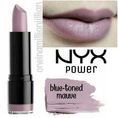 Nyx Lipstick, Mineral Oil, Mauve, Up, Moisturizer, Purple, Classic, Moisturiser, Derby