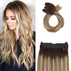 Generous Moresoo Wrap Around Ponytail Human Hair Ash Blonde #18 Highlighted With Bleach Blonde #613 Straight Human Hair Ponytail 100g Ponytails