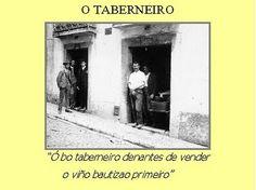 -: Antigas Profissões de Lisboa-taberneiro