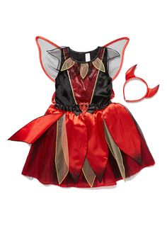 Girls Kids Red Devil Fairy (9 months-5 years) | Tu clothing