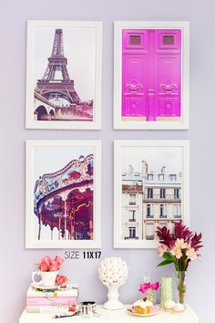 Paris Fine Art Prints by Annawithlove | www.annawithloveshop.com
