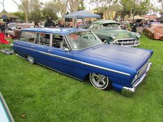 """65 ford fairlane stationwagon with bellflowers, astros & pinners laying frame. What says """"60's"""" better?"""