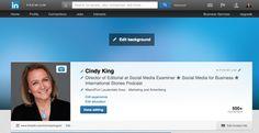 How to Use the New #LinkedIn Header Image for Profiles with #video - Como usar las nuevas imágenes de cabecera de Linkedin con video incluido