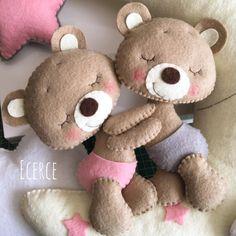 #keçe #felt #feltro #fieltro #kapisusu #kecekapisusu #ecerce #tasarim #babyroom #babyroomdecor #elyapimi #handmade #hediye #baby #babyshower #bebekodasi #babybear #bear #feltbear #bearlove #dogumhediyesi #hosgeldinbebek