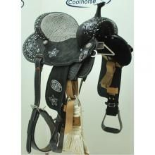 Always Styling In A Double J Brittany Pozzi Barrel Saddle! We Have Them At Coolhorse! | www.coolhorse.com