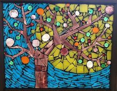 "A mosaic:  ""That Tree"" by xola arts and objects - lisa arnold, via Flickr. See more of Lisa's work here: http://portfotolio.net/xolaarts"