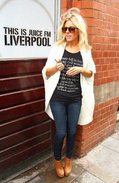 Mollie King, Liverpool October 06.2011
