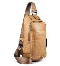 iCarer Shenzhou Real Leather Cross Body Bag