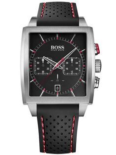 Hugo Boss Mens Square Chronograph Watch 1513356