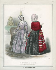 Le Moniteur de la Mode March 1844 LAPL