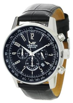 Vostok Europe Gaz-14 Limousine wristwatch review   Teller types Vostok  Watch, Chronograph, cef49921a489