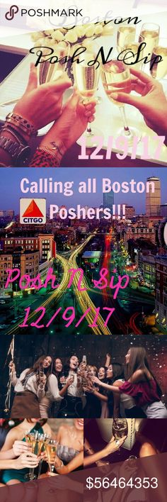 Boston Posh N Sip!!! On December 9, more details will follow, comment if you are interested in going!!! Hosted at Drink ( 348 Congress St, Boston, MA 02210) at 7 PM until whenever, closes at 1 AM. There will be a photographer there for the beginning. And they will be accommodating us with all of our stuff & the photographer. I'll be getting there at 4 PM right when it opens, to set up if you want to get there earlier that would be great! Bags Shoulder Bags