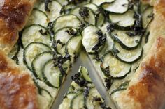 Always With Butter: Zucchini & Ricotta Galette