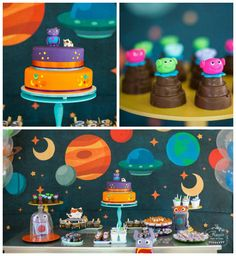 Home Inspired Alien Birthday Party via Kara's Party Ideas | The Place For All Things Party! KarasPartyIdeas.com (3)