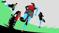SILL270, 프리진, 일러스트, 사람, 인물, 캐릭터, 운동선수, 운동, 다이나믹, 스포츠, 국가대표, 스포츠스타, 선수, 체육, 체력, 그룹, 단체, 전신, 남자, 남성, 여자, 여성, 3인, 성인, 어른, 액션, 모션, 경기, 경쟁, 시합, 게임, 승부, 운동복, 프로, 건강, 달리는, 뛰는, 러닝, 경주, 조깅, 육상, 마라톤, 오래달리기, 달리기, 빠름, 빠른, 스피드, 러너, 주자, 스타트, 출발, 반바지, 반팔, 포니테일, 운동화, 붉은, 빨간, 빨강, 파랑, 파란, 푸른, 하늘색, 초록, 녹색, 노랑, 노란, 검정, 그림자, #유토이미지