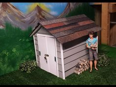 How to make a Doll Shed