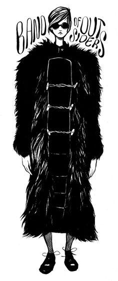 Fall 2014 Fashion Zine by Bijou Karman