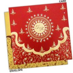 Find beautiful shimmery finish paper Regular Invitations here. Browse our website for more Indian wedding cards.