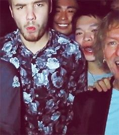 I didn't know I needed Liam in floral until right now