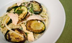 SORTED - Salmon and Courgette Linguine