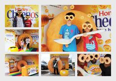 Honey Cheerios - Experiential Campaign