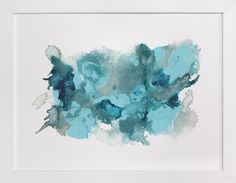 Happy In Blue by Michelle Waldie at minted.com