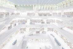 The new Municipal Library in Stuttgart by Ardex, TRILUX & Co. KG, Yi Architects and Sichtkreis Architekturfotografie http://www.archello.com/en/project/new-municipal-library-stuttgart?utm_content=buffer69109&utm_medium=social&utm_source=pinterest.com&utm_campaign=buffer