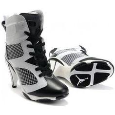 Air Jordan 6 High Heel White Black