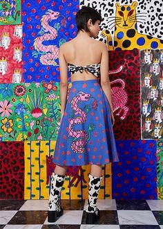 Studio 54, Famous Art Pieces, Psychedelic Fashion, Colourful Outfits, Fashion Fabric, Bunt, Editorial Fashion, Ideias Fashion, Pattern Design