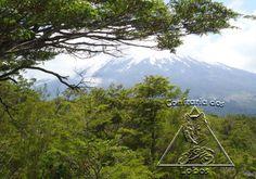 Vulcão Osorno, região dos lagos. Sul do Chile
