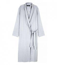 Tibi Kimono Maxi Coat in Gray