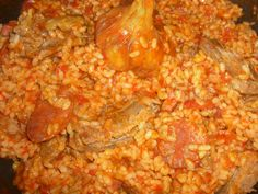 Concha cocina: ARROZ ZAMORANO