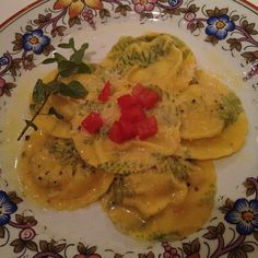 Ravioli de brie c trufa #yummy - @lalatrussardirudge | Webstagram