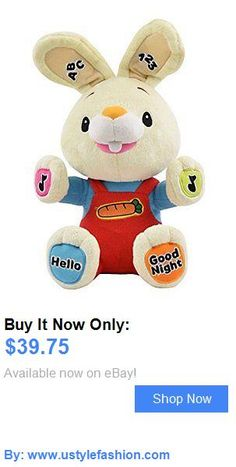 Developmental Baby Toys: Plush Toy Baby First Tv Harry The Bunny Sing And Play Interactive Stuffed Animal BUY IT NOW ONLY: $39.75 #ustylefashionDevelopmentalBabyToys OR #ustylefashion Baby Girl Toys, Toys For Girls, Harry The Bunny, Baby First Tv, Interactive Toys, Educational Toys, Pet Toys, Smurfs, Singing