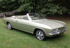 Last Corvair convertible heads to auction -- My dad had a 66 Red Corvair Corsa Convertible that I vaguely remember... but what I do makes me nostalgic when I saw this article.