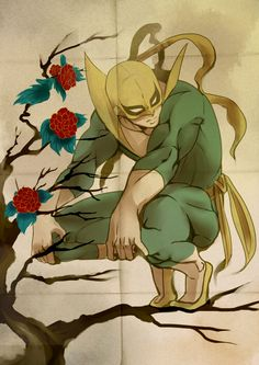 Iron Fist used to be my very favorite Marvel superhero, and he still is up there on my list. -Steaky