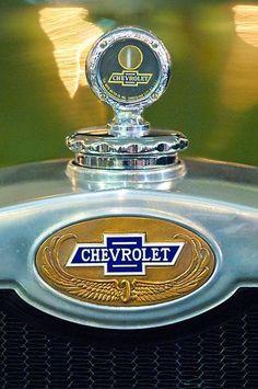 1928 Chevrolet 2 Door Coupe Hood Ornament by Jill Reger: 1928 Chevrolet 2 Door Coupe Hood Ornament by Jill Reger: Retro Cars, Vintage Cars, Antique Cars, Car Badges, Car Logos, Logo Autos, Rat Rods, Car Bonnet, Car Hood Ornaments
