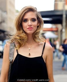 Chiara Ferragni Widely-followed blogger and fashion designer, out and about in the Meatpacking District http://icelebz.com/events/chiara_ferragni_widely-followed_blogger_and_fashion_designer_out_and_about_in_the_meatpacking_district/photo2.html
