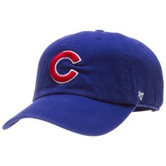 Chicago Cubs Royal Clean-Up Adjustable Hat by 47 Brand  Chicago  Cubs   22934c81581